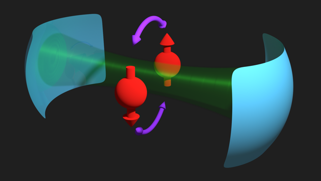 spin-photon interface in Si